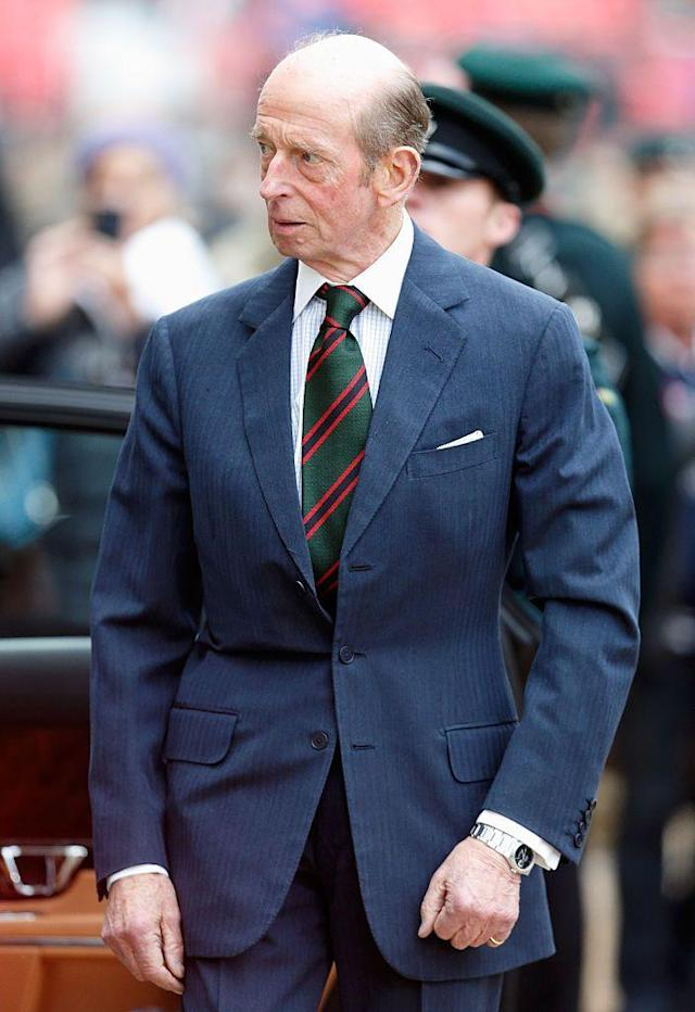 <p><strong>Branch of the Family Tree:</strong> Grandson of King George V, son of Prince George, Duke of Kent, who was Queen Elizabeth II paternal uncle; cousin to the Queen.<br /></p>