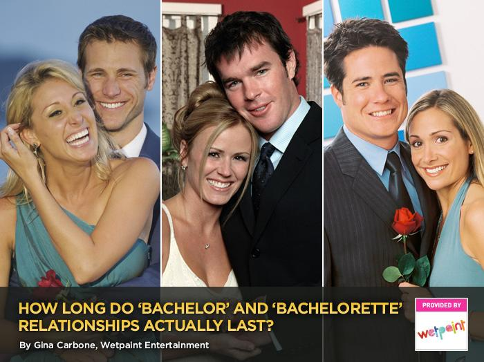 "Let's face it; ""The Bachelor"" and ""The Bachelorette"" are among the most romantic shows on TV. Who could resist a love journey complete with fantasy dates in exotic locales, all ending in one epic rose ceremony? Unfortunately, what we see on-screen doesn't always last long after the final rose. Even diehard romantics like us have to admit the franchise's relationship success rate is pretty low: After 10 years of matchmaking, 16 completed seasons of ""The Bachelor,"" and seven seasons of ""The Bachelorette,"" a full four out of 23 ""official"" couples are still together.<br><br>As much as Rosemaster Chris Harrison and company like to say that ""The Bachelor"" breakups match real-life dating statistics, most of us don't end our engagements after just a couple of months. That's not normal, right?  <br><br>Click through this slideshow to see the couples that are still together and the ones that aren't."