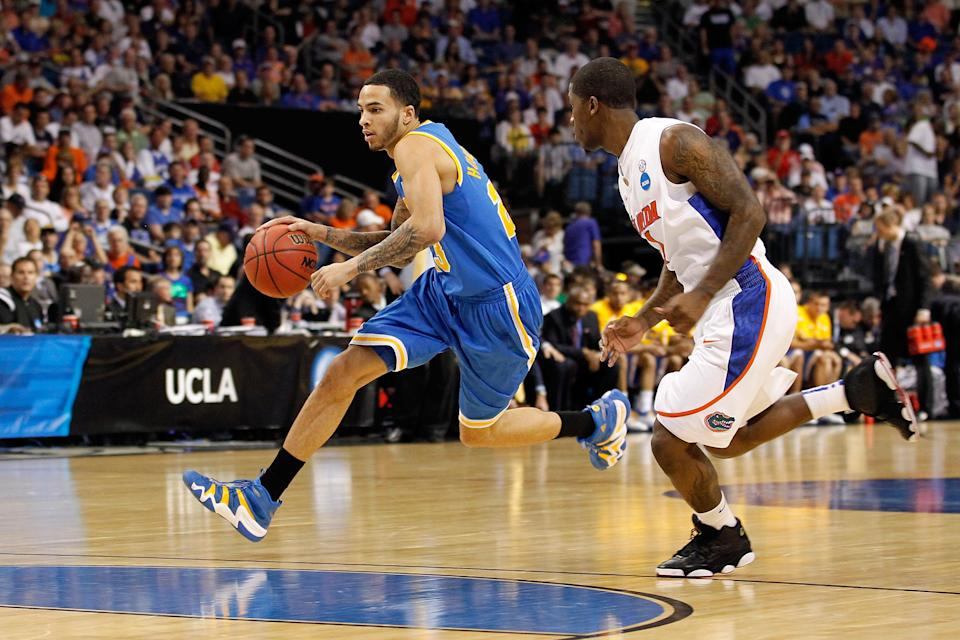Tyler Honeycutt (left) was found dead in Los Angeles early Saturday. (Photo by J. Meric/Getty Images)