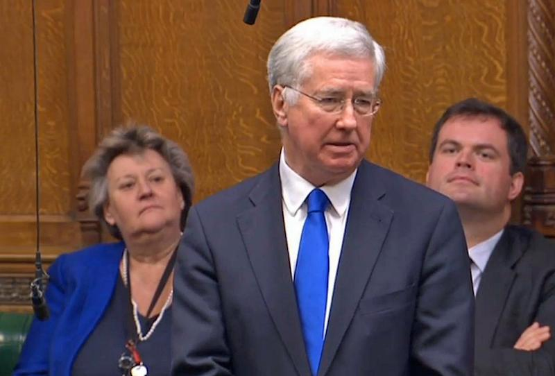 <strong>Former defence secretary Michael Fallon was forced to resign</strong> (PA Wire/PA Images)