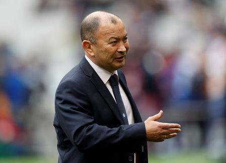 Rugby Union - Six Nations Championship - France vs England - Stade de France, Saint-Denis, France - March 10, 2018 England head coach Eddie Jones before the match REUTERS/Gonzalo Fuentes