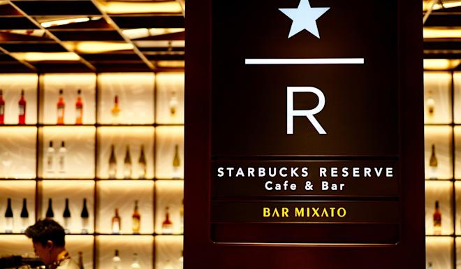 Starbucks Reserve Cafe & Bar Mixato at The Bund in Shanghai. The Seattle-based coffee chain's first store in Asia serves liquor and alcoholic drinks besides coffee. Photo: Shutterstock