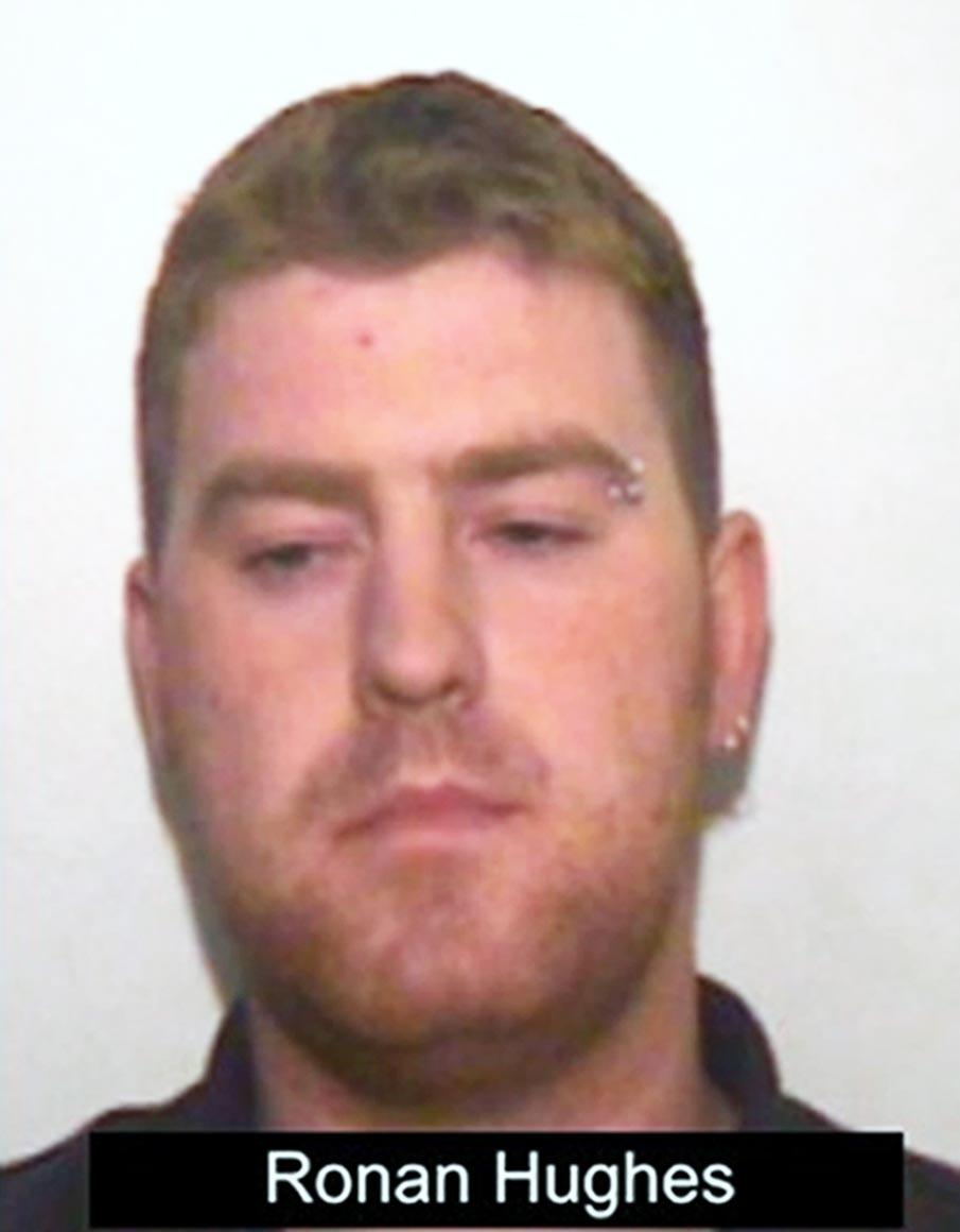 Haulier Ronan Hughes, 40, is being sentenced. (PA)
