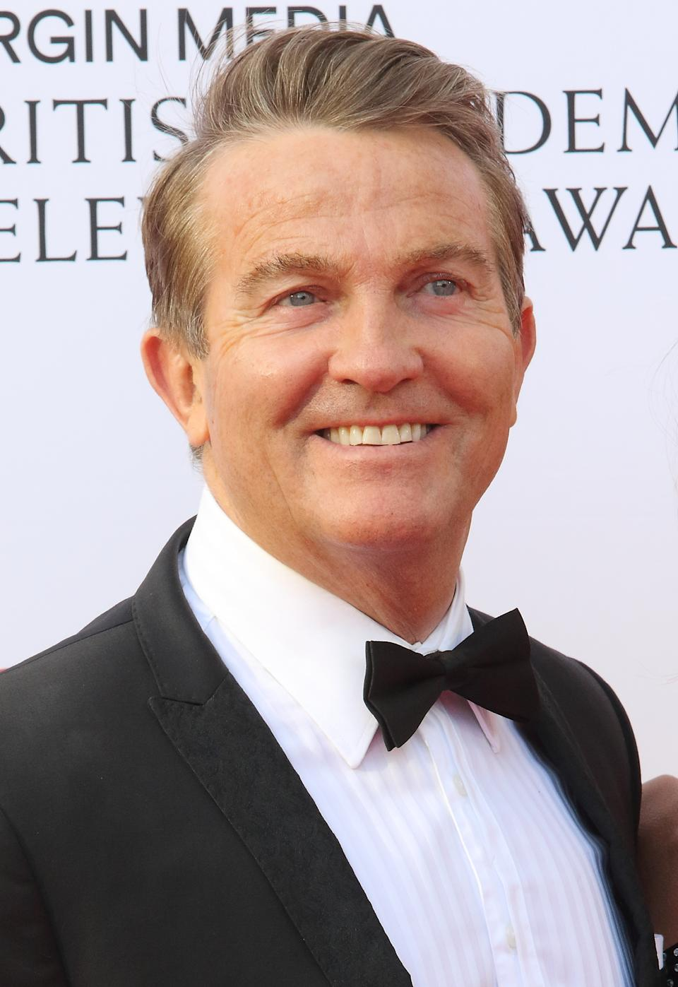 Bradley Walsh seen on the red carpet during the Virgin Media BAFTA Television Awards 2019 at The Royal Festival Hal in London. (Photo by Keith Mayhew / SOPA Images/Sipa USA)
