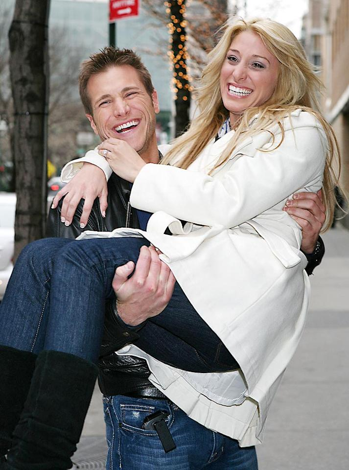 """""""The Bachelor"""" Jake Pavelka gave his final rose and an engagement ring to Vienna Girardi on Monday night's finale, choosing her over fan favorite Tenley Molzahn. Continuing on the reality train to fame, Pavelka will also star on the new season of """"Dancing With the Stars."""" Jennifer Mitchell/<a href=""""http://www.splashnewsonline.com"""" target=""""new"""">Splash News</a> - March 2, 2010"""