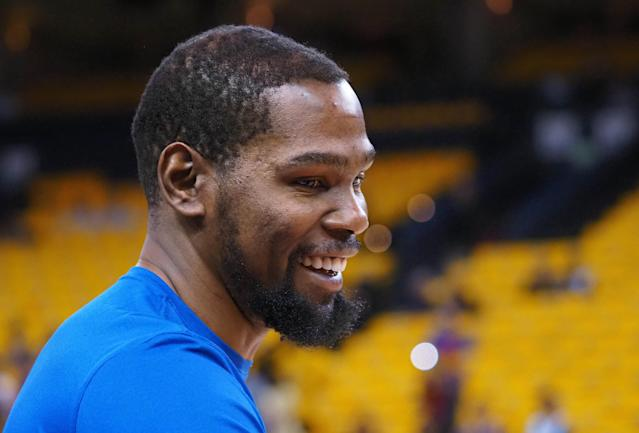 Kevin Durant is headed to Brooklyn. (Warriors)