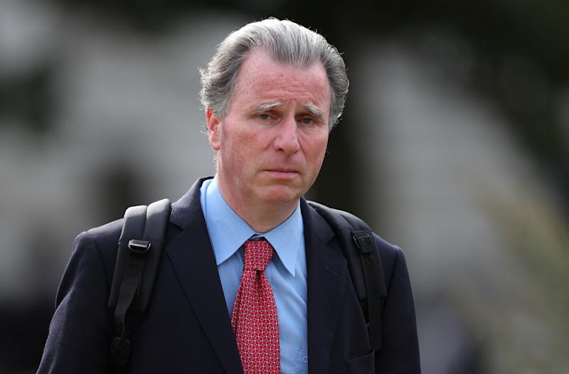 British Conservative MP Oliver Letwin walks through Westminster in London, Britain, August 21, 2019. REUTERS/Hannah McKay