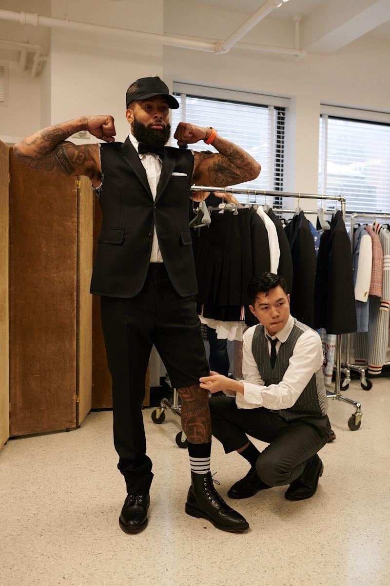 d36ee22cc87442 Odell Beckham Jr. on Wearing a Kilt to the Met Gala and Building a Dynasty  in Cleveland