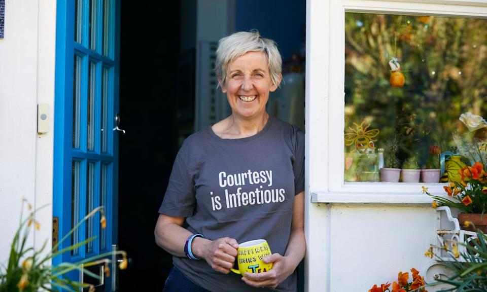 Actor Julie Hesmondhalgh, creator of the 500 Acts of Kindness Facebook page.