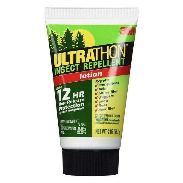 """<p><strong>Ultrathon</strong></p><p>walmart.com</p><p><strong>$10.17</strong></p><p><a href=""""https://go.redirectingat.com?id=74968X1596630&url=https%3A%2F%2Fwww.walmart.com%2Fip%2F21014972%3Fselected%3Dtrue&sref=https%3A%2F%2Fwww.thepioneerwoman.com%2Fhome-lifestyle%2Fg37103733%2Fbest-mosquito-repellents-bug-sprays%2F"""" rel=""""nofollow noopener"""" target=""""_blank"""" data-ylk=""""slk:Shop Now"""" class=""""link rapid-noclick-resp"""">Shop Now</a></p><p>This lotion wards off mosquitoes for up to 12 hours with 34.34 percent DEET, the most common insect repellent ingredient. Just smooth it on like sunscreen, and you're good to go!</p>"""