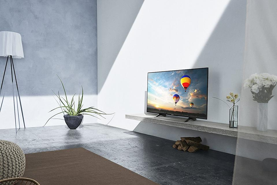 Watch 4K HDR entertainment on this Sony 55-inch TV. (Photo: Walmart)