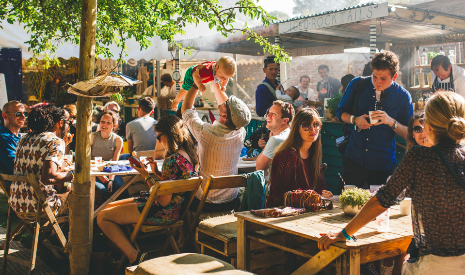 <p><b>Food is a BIG hit at this Cornwall getaway. Head over the Flower & Fodder area to indulge in some seriously good cuisine from the country's greatest horticulturists and culinary geniuses. There are talks and demos – as well as lots of good food to chow down on. </b></p>