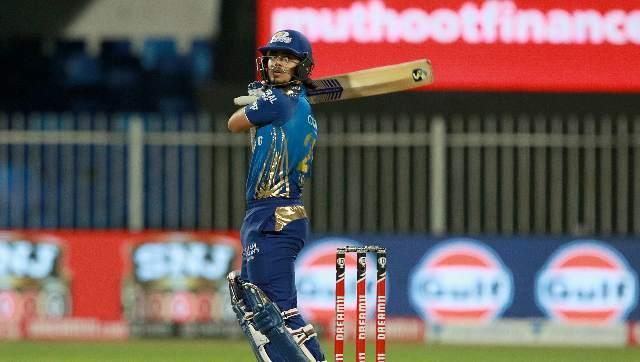 Ishan Kishan filled in for the absent Rohit Sharma, and struck a 37-ball knock of 68, with six fours and five sixes. Sportzpics