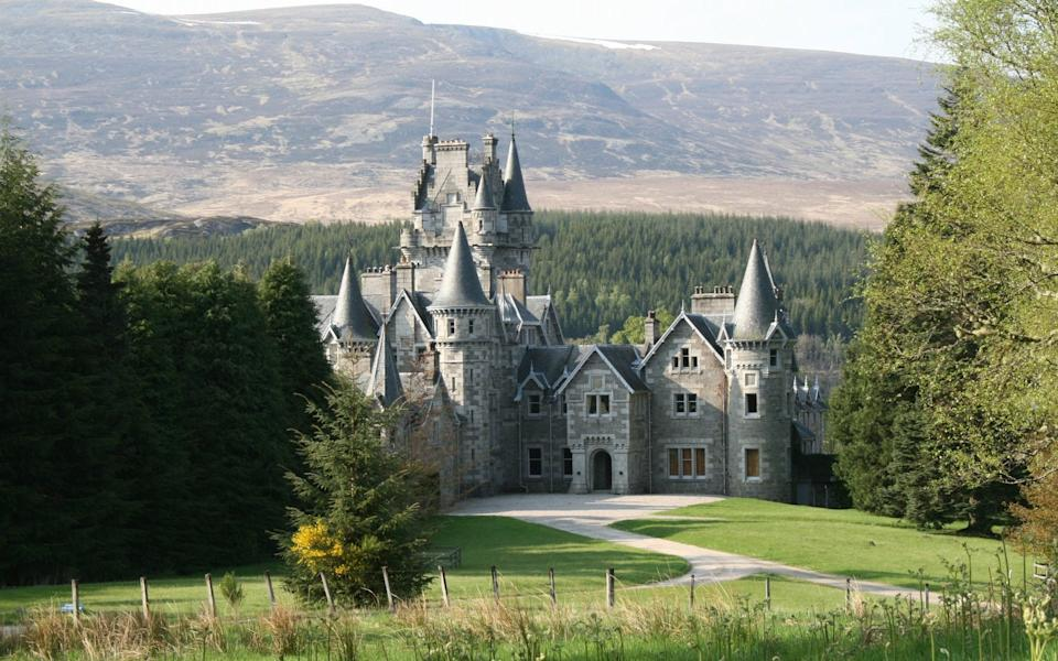 Ardverikie is one of the estates used as a Balmoral filming location