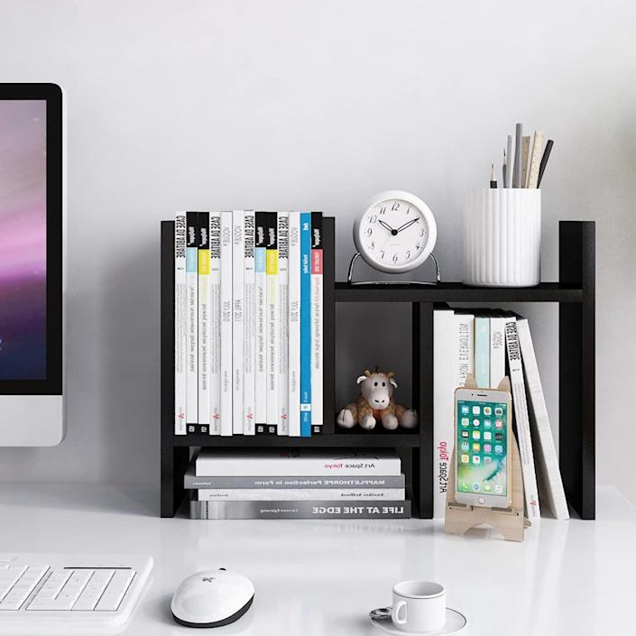 <p>Keep your desk clutter-free with this <span>Jerry &amp; Maggie Desktop Organizer</span> ($25, originally $30).</p>