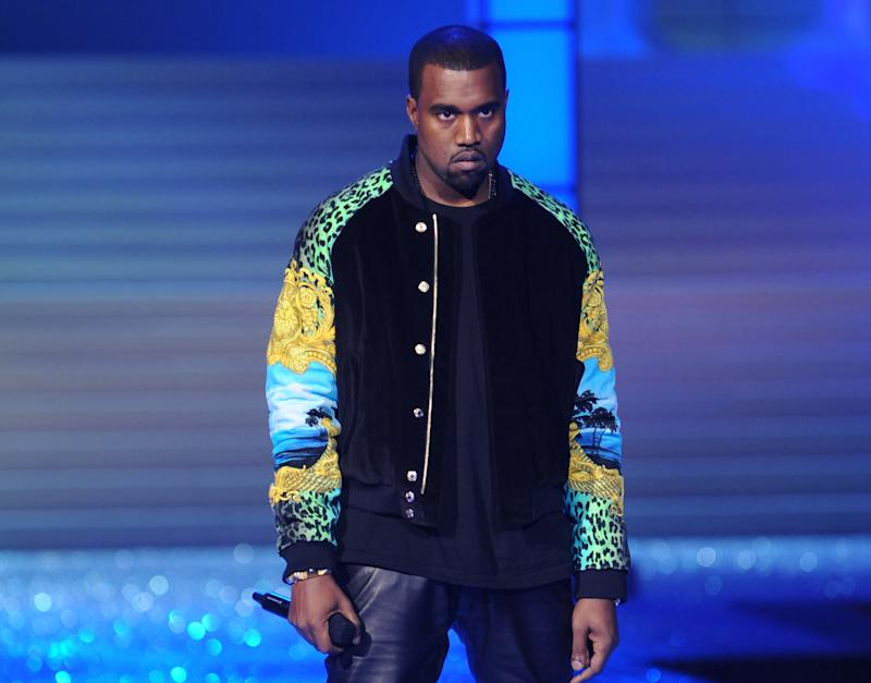 FILE - In this Nov. 9, 2011 file photo, Kanye West performs during the Victoria's Secret fashion show in New York. With 17 nominations, Kanye West is the leader at the BET Hip-Hop Awards, which will tape on Sept. 29, 2012 in Atlanta. He's nominated for lyricist of the year, best hip-hop video and best live performer, among others. The show will air on BET on Oct. 9. (AP Photo/Brad Barket, File)