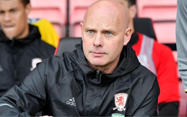 <span>Steve Agnew agrees the second half of the season has been a massive disappointment</span> <span>Credit: Rex </span>