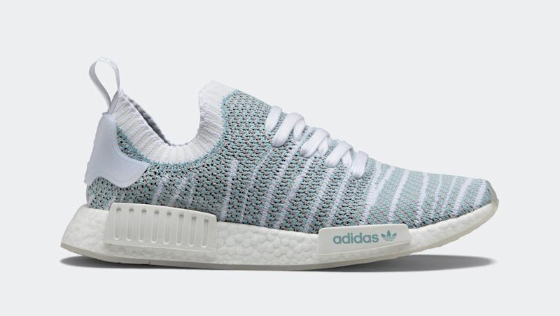 From Plastic These Adidas Water Created Entirely Are Sneakers SUGMpqzV
