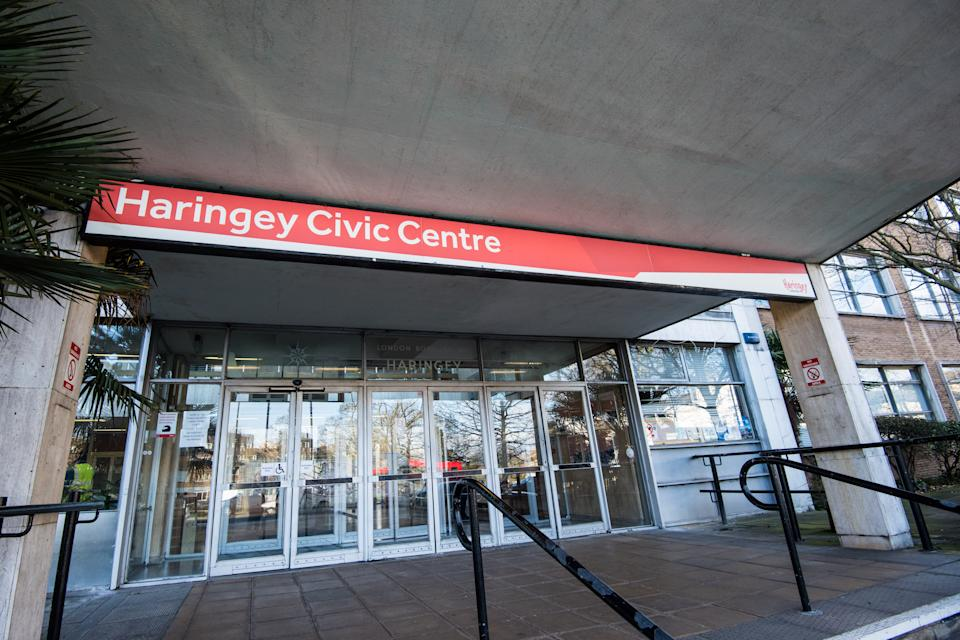General view of Haringey Council's offices in Wood Green, north London. Picture date: Thursday February 1st, 2018. Photo credit should read: Matt Crossick/ EMPICS Entertainment.