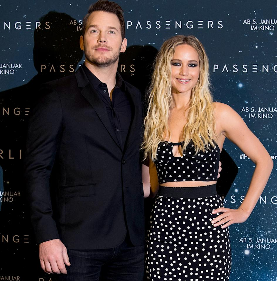 """<p>Jennifer Lawrence has said that she relied on alcohol to get through her first sex scene — which she shares with Chris Pratt — in the upcoming sci-fi drama Passengers. During a SiriusXM Town Hall, Pratt told PEOPLE all about filming the nerve-racking scene — and how he tried to make Lawrence as comfortable as possible. """"I don't want to make generalizations based on gender, but I feel the responsibility falls on me [to make my costar comfortable], and I've been in that situation a couple times,"""" the actor said. """"Essentially it's your job to just minimize the discomfort by, you know, making sure there's nobody else on set than is required, having a closed set, periodically checking in, and just doing everything you can to assure the person you're with that they're okay."""" He continued, """"For all the sense of anxiety that comes leading up to a scene like this, you get into it and you realize there's really nothing sexy about it at all. It's just really awkward. But you know, it's part of the gig and you just do what you can to check in with the other person and try to minimize any discomfort that they feel.""""</p>"""