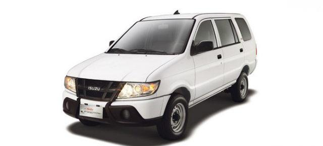 White Isuzu Crosswind