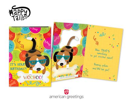 New Happy TailsTM Birthday Cards From American Greetings Feature