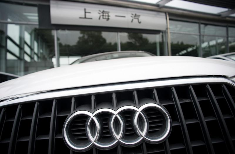 German luxury car brand Audi was investigated by Chinese authorities (AFP Photo/Johannes Eisele)