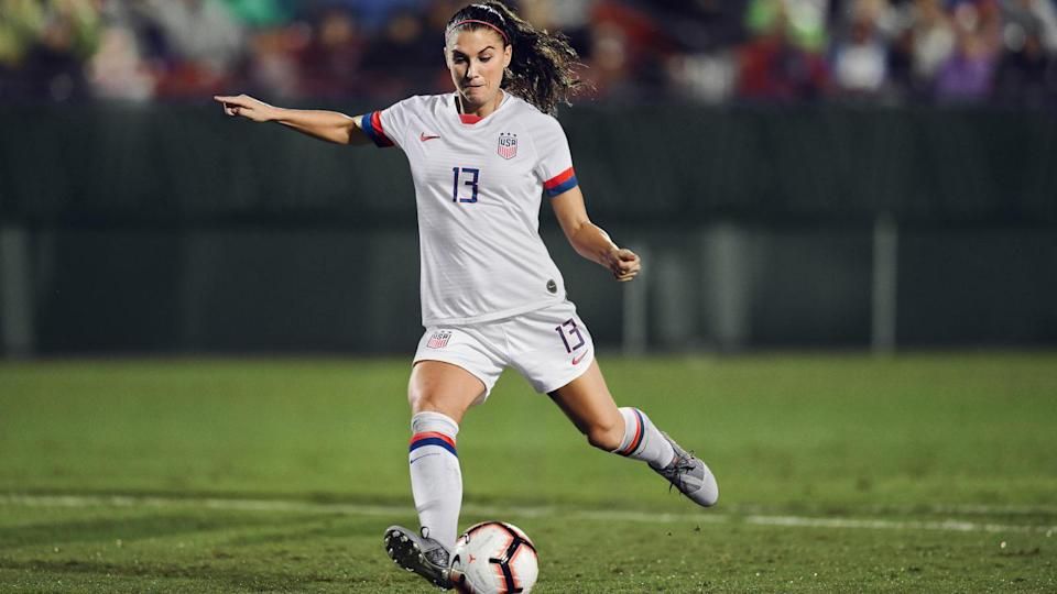 <p>For the all-white home kit, the shirt features a stripped sleeve cuff reminiscent of those worn by Chastain, Hamm and Foudy, and is punctuated by three stars above the crest — honouring world titles from '91, '99 and 2015. This theme follows on the shorts, where the single star adorning the sides of the '99er uniform has been replaced by a stack of three. Knit tape on the back of the neck also takes this embellishment. </p>