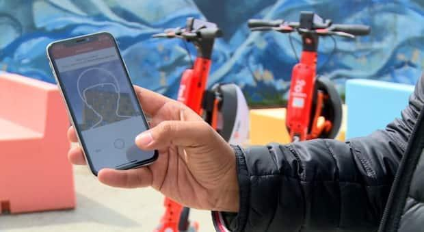 Bird and Neuron Mobility have launched electronic scooters in Calgary. (Helen Pike/CBC - image credit)