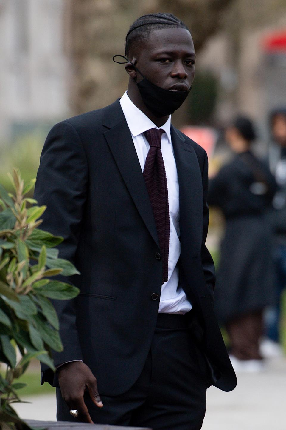 Pa Salieu arriving at court in Coventry. (Credit Jacob King/PA)