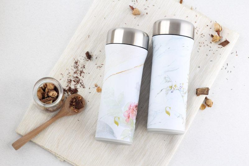 Porcelain thermal flasks. Photo: Swanz