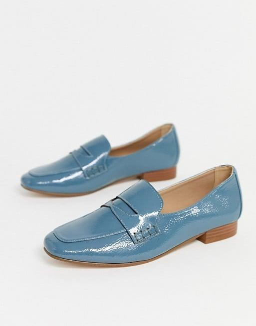 "<p>These fresh <a href=""https://www.popsugar.com/buy/ASOS-DESIGN-Membership-Loafer-Flats-538469?p_name=ASOS%20DESIGN%20Membership%20Loafer%20Flats&retailer=asos.com&pid=538469&price=35&evar1=fab%3Auk&evar9=45810580&evar98=https%3A%2F%2Fwww.popsugar.com%2Ffashion%2Fphoto-gallery%2F45810580%2Fimage%2F47093051%2FASOS-DESIGN-Membership-Loafer-Flats&list1=shopping%2Cshoes%2Cflats%2Coffice%2Cspring%20fashion%2Cwinter%20fashion&prop13=api&pdata=1"" rel=""nofollow"" data-shoppable-link=""1"" target=""_blank"" class=""ga-track"" data-ga-category=""Related"" data-ga-label=""https://www.asos.com/us/asos-design/asos-design-membership-loafer-flat-shoes-in-blue/prd/13437922?clr=cornflower-blue&amp;colourWayId=16541989&amp;SearchQuery=womens%20loafers"" data-ga-action=""In-Line Links"">ASOS DESIGN Membership Loafer Flats</a> ($35) are perfect for 2020.</p>"