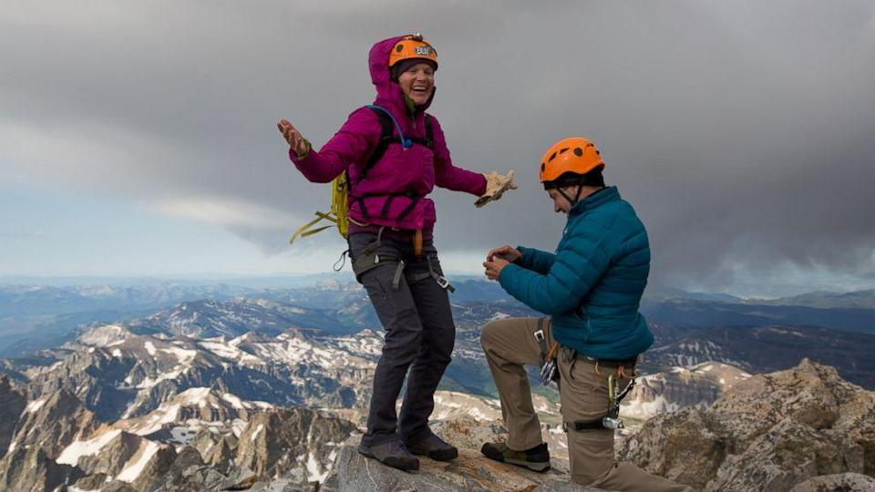 Engagement Ring Lost on 'Spectacular' 14,000-Foot Peak 'Meant to Be There' (ABC News)