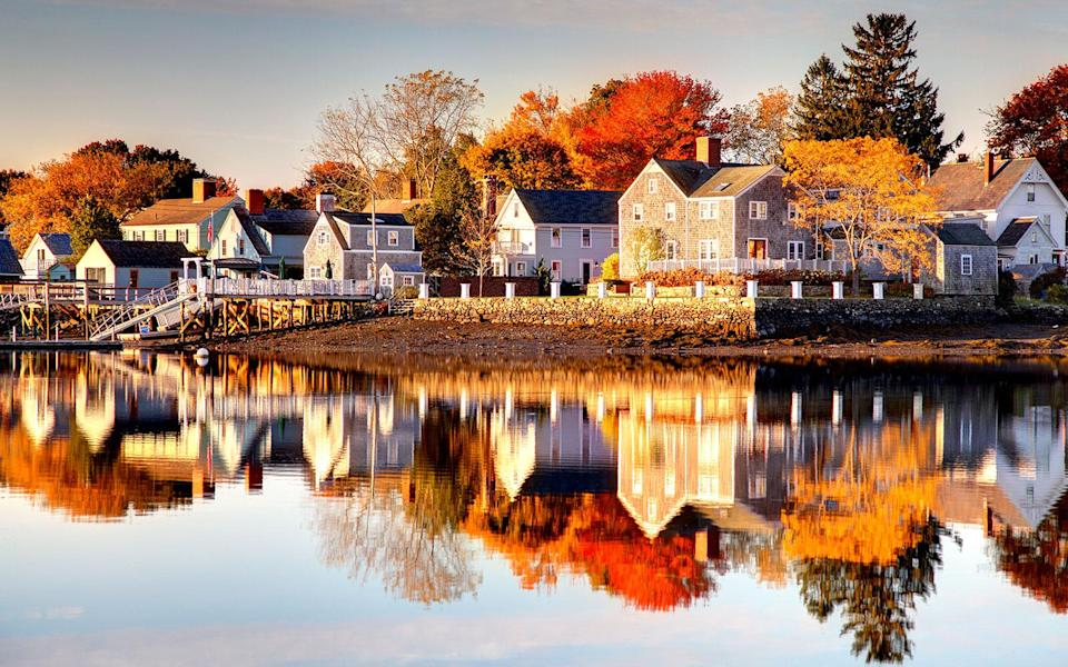 """<p>New Hampshire is one of the safest states in the country. And Portsmouth is among its most pedestrian-friendly cities, and is fantastic for history buffs. The <a href=""""http://www.travelandleisure.com/slideshows/americas-best-towns-for-the-holidays/20"""" rel=""""nofollow noopener"""" target=""""_blank"""" data-ylk=""""slk:waterfront town"""" class=""""link rapid-noclick-resp"""">waterfront town</a> claims to have the most restaurants per capita in the country. Its latest culinary buzz anchors around the nearly 15 oyster farmers working to put Great Bay's bivalves back on the map. Sample the best of the Bay at the Franklin Oyster House, run by <a href=""""http://www.travelandleisure.com/food-drink/restaurants/best-eco-friendly-restaurants-united-states/new-hampshire"""" rel=""""nofollow noopener"""" target=""""_blank"""" data-ylk=""""slk:James Beard-nominated chef Matt Louis."""" class=""""link rapid-noclick-resp"""">James Beard-nominated chef Matt Louis.</a></p>"""