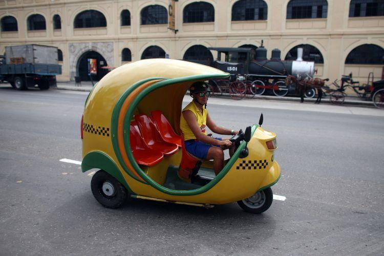 A tourist taxi (Getty Images)