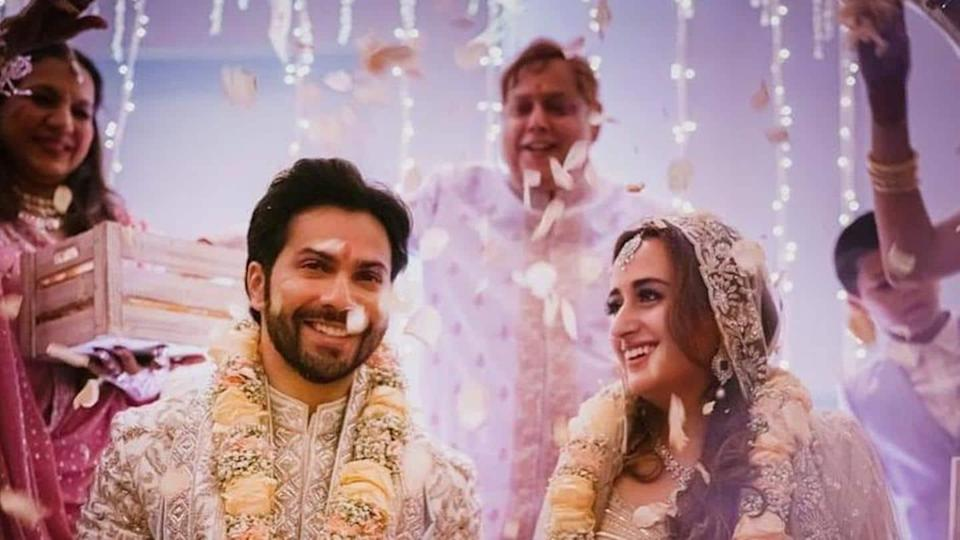 Varun-Natasha wedding: Check out the first pictures