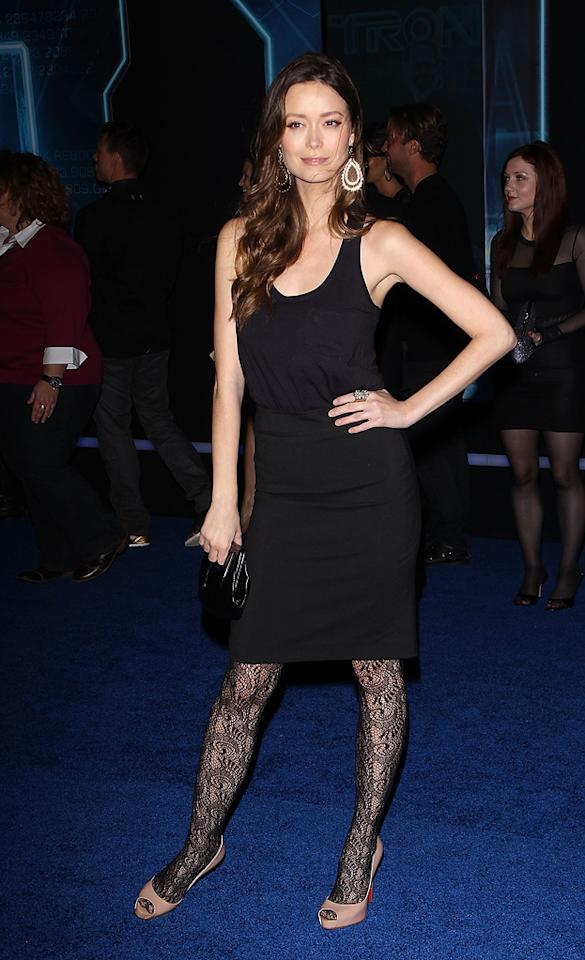 "<a href=""http://movies.yahoo.com/movie/contributor/1807799930"">Summer Glau</a> attends the Los Angeles premiere of <a href=""http://movies.yahoo.com/movie/1810096458/info"">TRON: Legacy</a> on December 11, 2010."