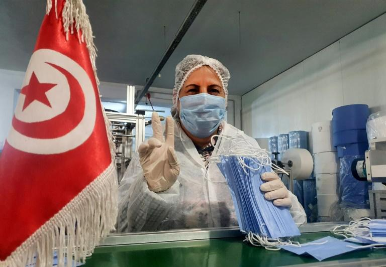 The company sells masks to a public body at long-established prices, and won't have the funds to continue the costly operation beyond a month (AFP Photo/-)