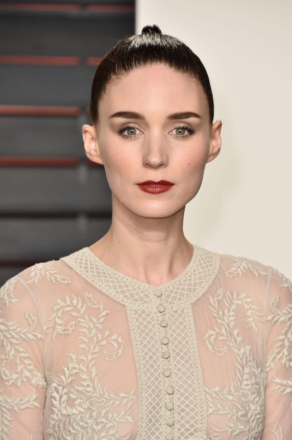 """<p>Mara hated the lack of diversity in the 2015 film, <em>Pan. </em>She told <em><a href=""""https://www.telegraph.co.uk/film/carol/rooney-mara-interview/"""" rel=""""nofollow noopener"""" target=""""_blank"""" data-ylk=""""slk:The Telegraph"""" class=""""link rapid-noclick-resp"""">The Telegraph</a></em> in 2016, """"I really hate, hate, hate that I am on that side of the whitewashing conversation. I really do. I don't ever want to be on that side of it again. I can understand why people were upset and frustrated.""""</p>"""