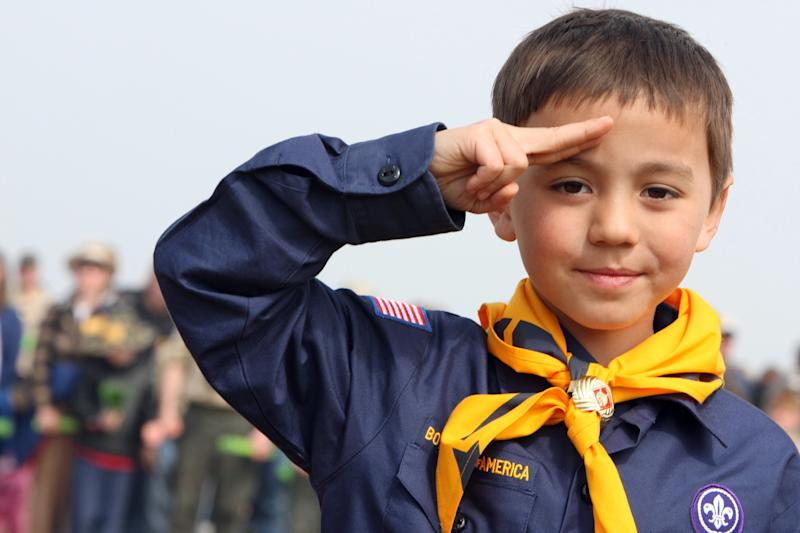 Families will be able to sign up their sons and daughters for Cub Scouts starting in the 2018 program year, which begins in August.  (KENZO TRIBOUILLARD via Getty Images)