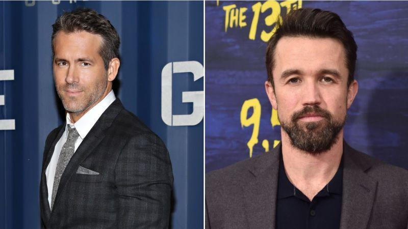 Ryan Reynolds (Cindy Ord/Getty Images/GettyImages), Rob McElhenney (Alberto E. Rodriguez/Getty Images)