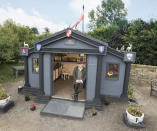 <p>HISTORIC:<br>The Temple – owned by Angus Robert Thompson in Dorset (Picture: Shed of the Year) </p>