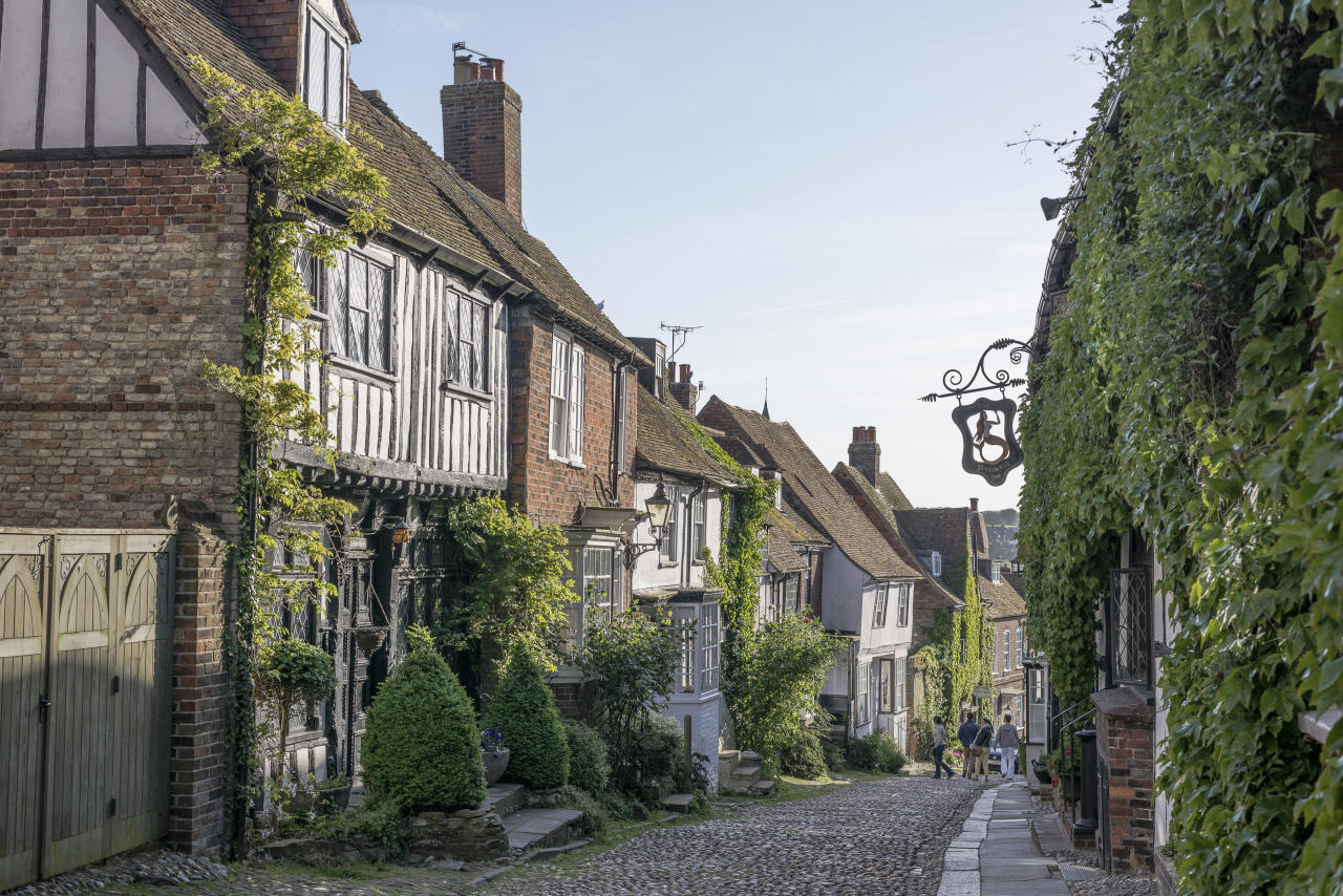 <p>Nestled between the rolling South Downs and the English channel, Rye in Sussex is the pretty little market town time seems to have forgotten. With its higgledy-piggledy chocolate box houses, cobbled lanes and quaint pubs, it's the perfect place for a micro-break. Potter through the streets taking in the vintage and up-cycled shops packed with stuff you don't really need but can't resist buying. Crock and Cosy is a must for retro kitchenware and The Shop Next Door stocks need, want hotel-esque homeware. For beach lovers and families, Camber Sands is a hop, skip and a jump away. Stay at The George in Rye, a boutique style hotel in the heart of the town. For the freshest fish eat at Webbe's at The Fish Cafe. <em>[Photo: Getty]</em> </p>