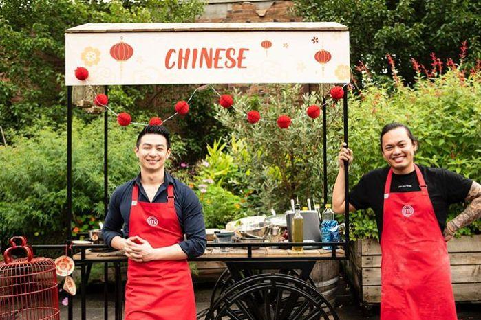 'MasterChef Australia: Back To Win' contestants Reynold Poernomo and Khanh Ong (Photo: Channel 10)