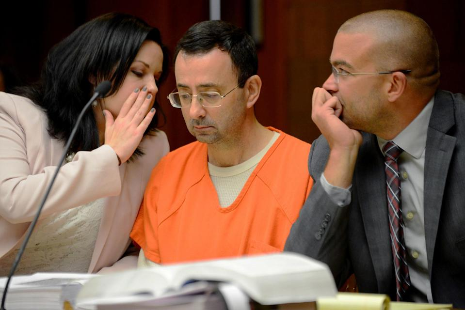 Dr. Larry Nassar is accused of molesting more than 100 girls. (AP)