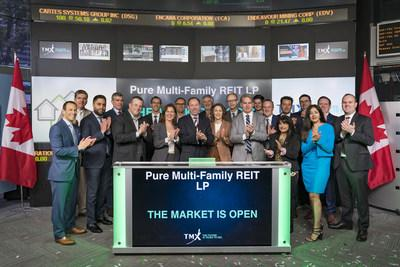Pure Multi-Family REIT LP Opens the Market (CNW Group/TMX Group Limited)