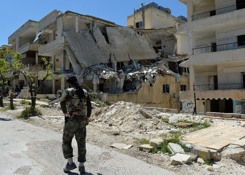 Syrian rebels seized control of the town of Salma in the coastal province of Latakia in 2012 (AFP Photo/Miguel Medina)
