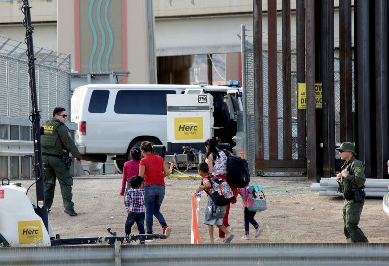 Trump administration sued over coronavirus-related border restrictions
