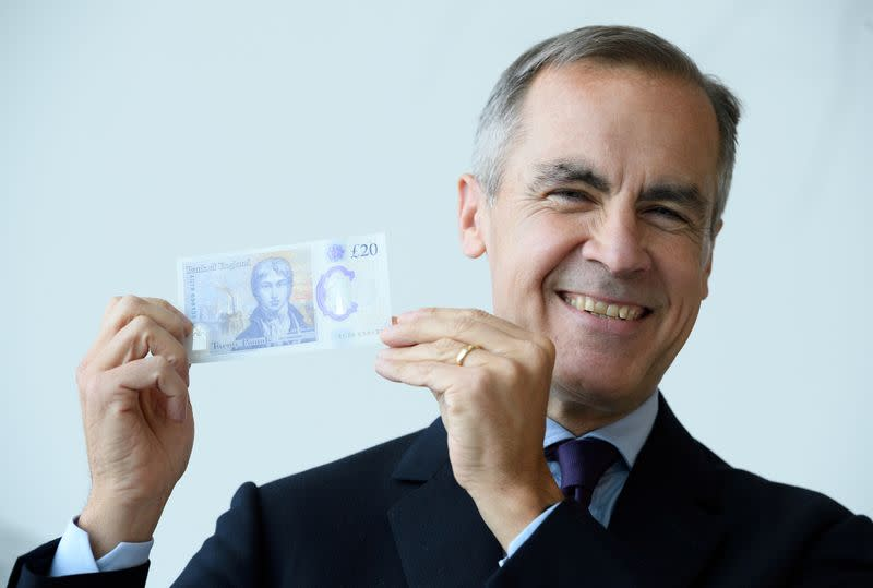 FILE PHOTO: Bank of England reveals design for new £20 note featuring Turner