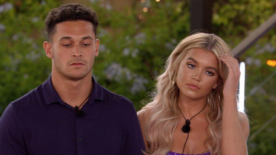 """<p><strong>Relationship status: <strong> Still together / </strong><strong>Still each other's type on paper</strong></strong></p><p>Callum revealed that he asked Molly to be his girlfriend, just two months after leaving the South African villa.<br><br>Callum told <a href=""""https://www.ok.co.uk/celebrity-news/love-island-callum-molly-official-21944935"""" rel=""""nofollow noopener"""" target=""""_blank"""" data-ylk=""""slk:OK!"""" class=""""link rapid-noclick-resp"""">OK!</a>, """"We are boyfriend and girlfriend now."""" He added that he told Molly they were """"courting"""" and Molly replied, """"Courting? That means we're together.""""<br><br>""""I was like: 'Alright then' and she was like: 'Are you asking me to be your girlfriend,' and I was like: 'Yeah'. And that's how it come about,"""" he explained.<br><br>The couple lived together at Molly's parents' house during lockdown, and it looks like things are still going strong. </p>"""